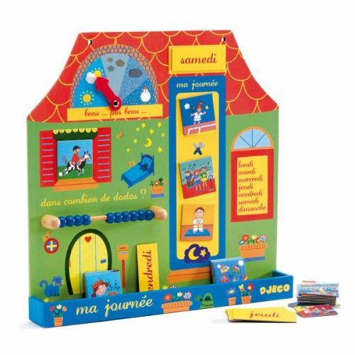 chaque matin votre enfant pourra mettre jour son calendrier et jouer pr voir la m t o le. Black Bedroom Furniture Sets. Home Design Ideas