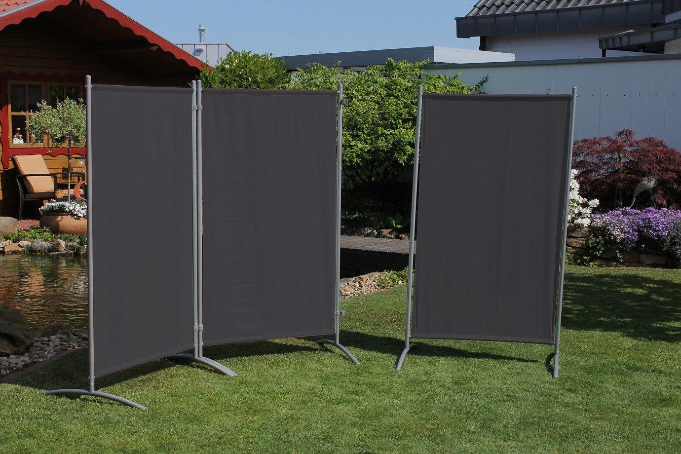Einfach Eine Edle Stellwand Garten Sichtschutz Sonnenschutz Markise Diy Vetrate