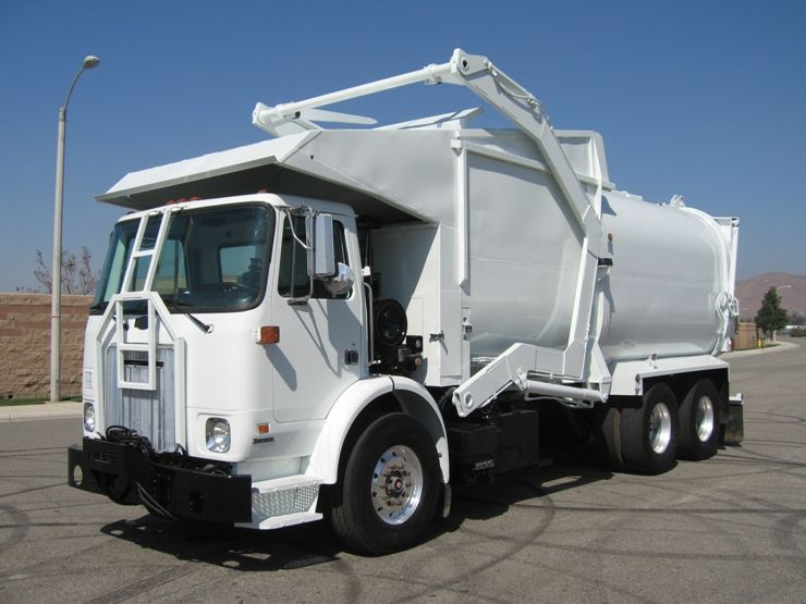 2005 Autocar Wx64 Xpeditor With Amrep 40yd Front Loader For Sale Trucks For Sale Garbage Truck Commercial Vehicle