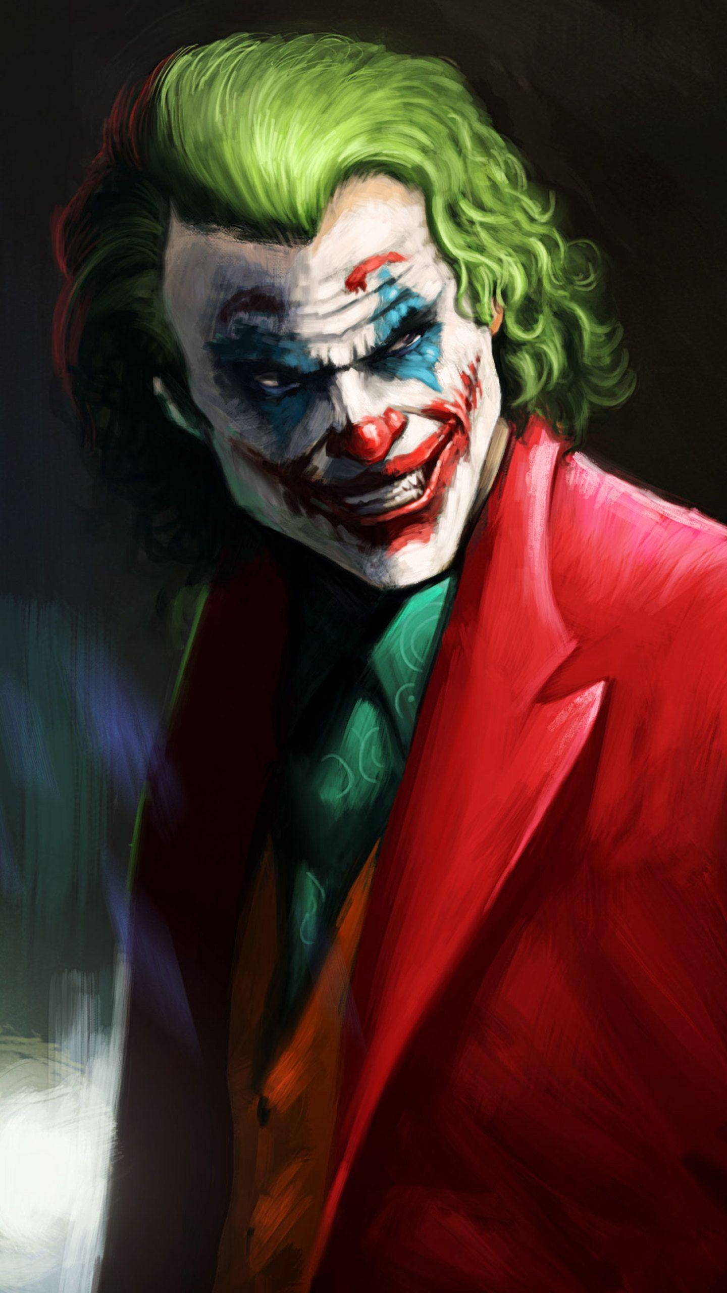 Joker Smile Supervillian HD Wallpaper (1440x2560)   Joker ...