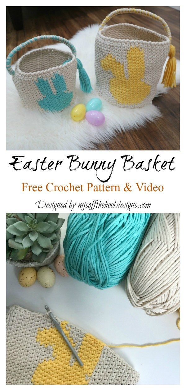 Photo of 10+ Crochet Easter Basket Free Patterns – Page 2 of 3
