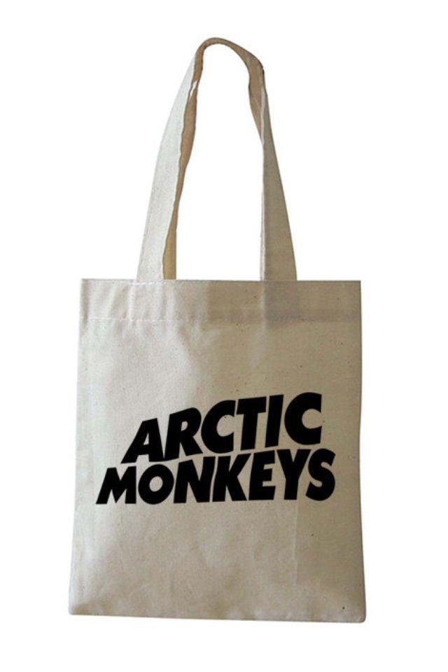 Arctic Monkeys | Cotton shopping bags, Monkey bag, Cotton bag