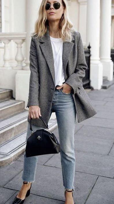 30 Atemberaubende Office Jeans Ideen für Frauen | Kleider