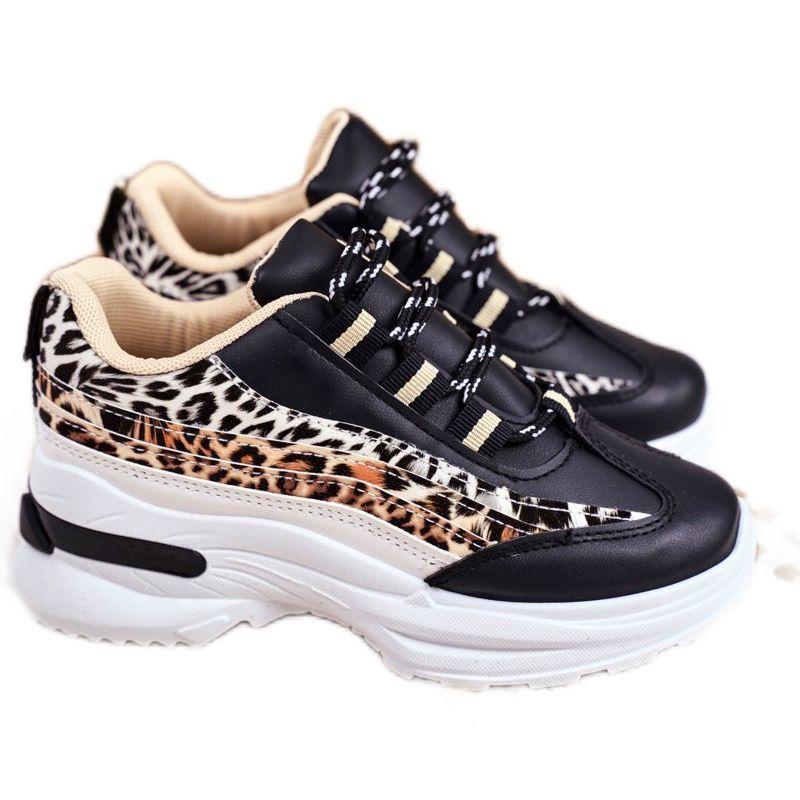 Frrock Sportowe Buty Dzieciece Czarne Dante Brazowe Shoes Sketchers Sneakers Sneakers