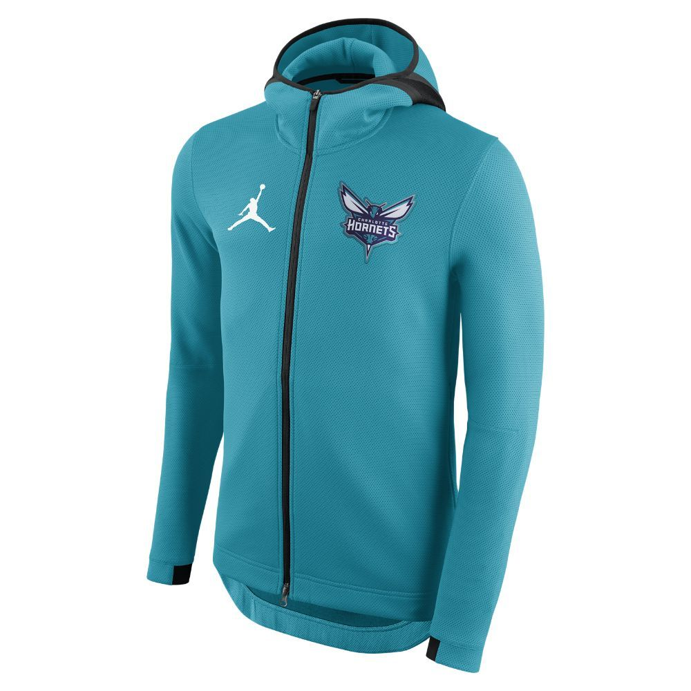 Charlotte Hornets Jordan Therma Flex Showtime Men s NBA Hoodie 116680c39