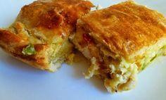 Συνταγή για πανεύκολη νηστίσιμη πίτα με πατάτα και πράσο