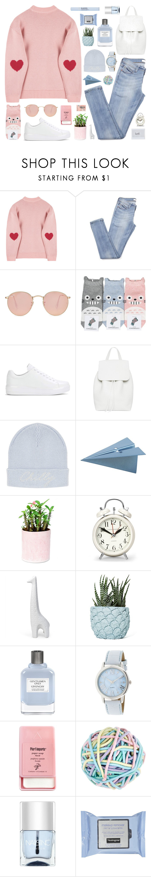 """My Harteu"" by vip-beauty ❤ liked on Polyvore featuring Ray-Ban, Prada, Topshop, CB2, Laura Ashley, Jonathan Adler, Chen Chen & Kai Williams, Givenchy, Pier 1 Imports and Accessorize"