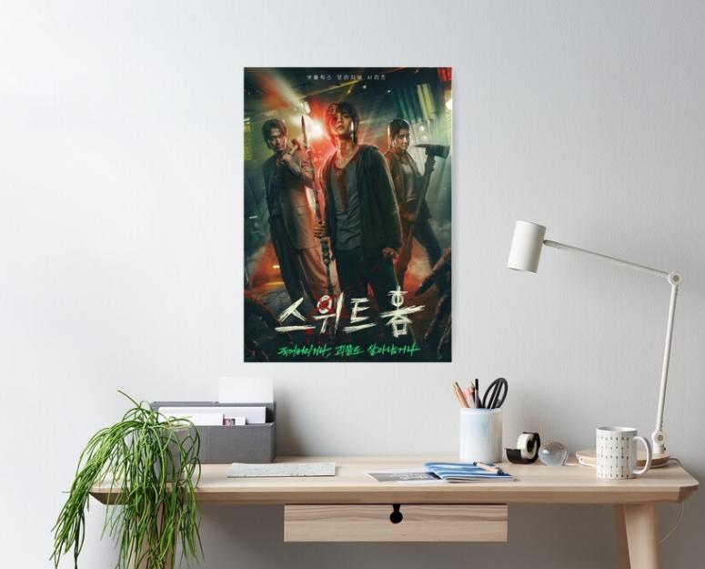 18 again subtitle indonesia sinopsis sweet home: Sweet Home Netflix Korean Drama Poster By Kcomet78 In 2021 Sweet Home Korean Drama Drama