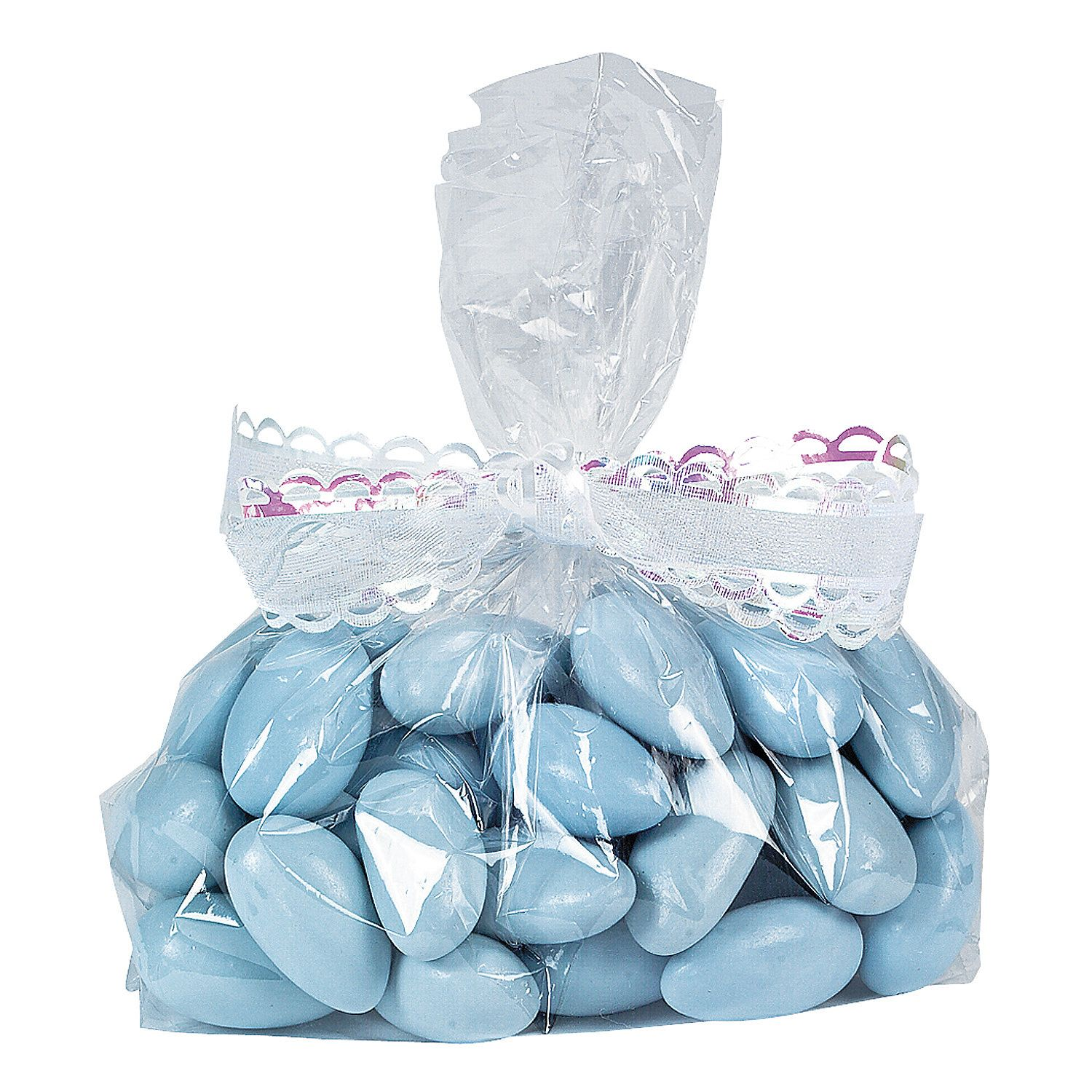 Small Clear Cellophane Gift Bags Oriental Trading Cellophane Gift Bags Blue Candy Buffet Candy Flowers