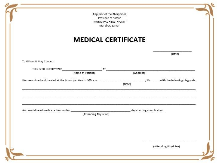 10+ Medical Certificate Templates Word, Excel  PDF Templates - employment verification form