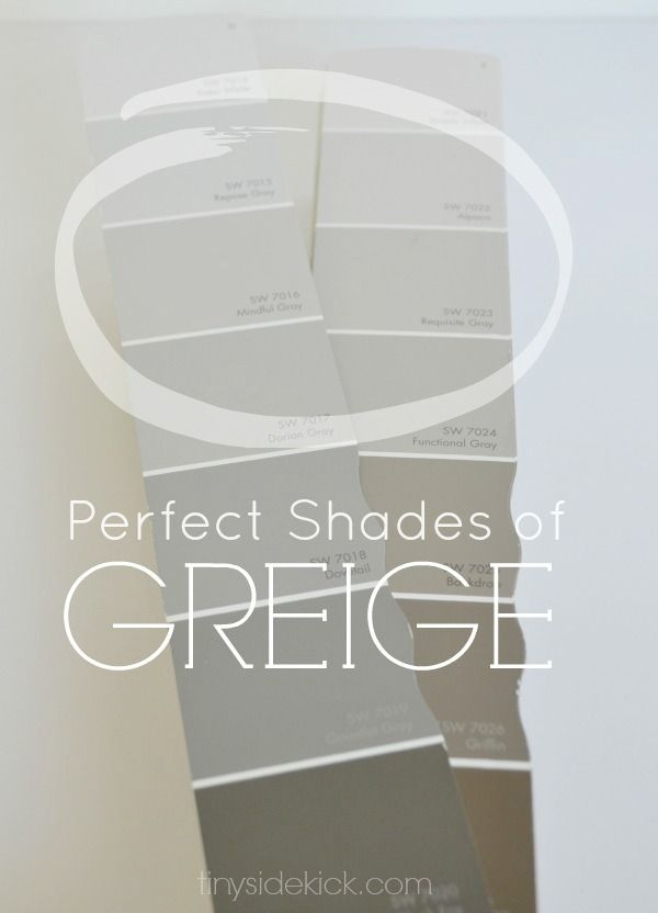 How to choose the perfect greige paint best of hey there home diy home decor wandfarbe - Wandfarbe greige ...