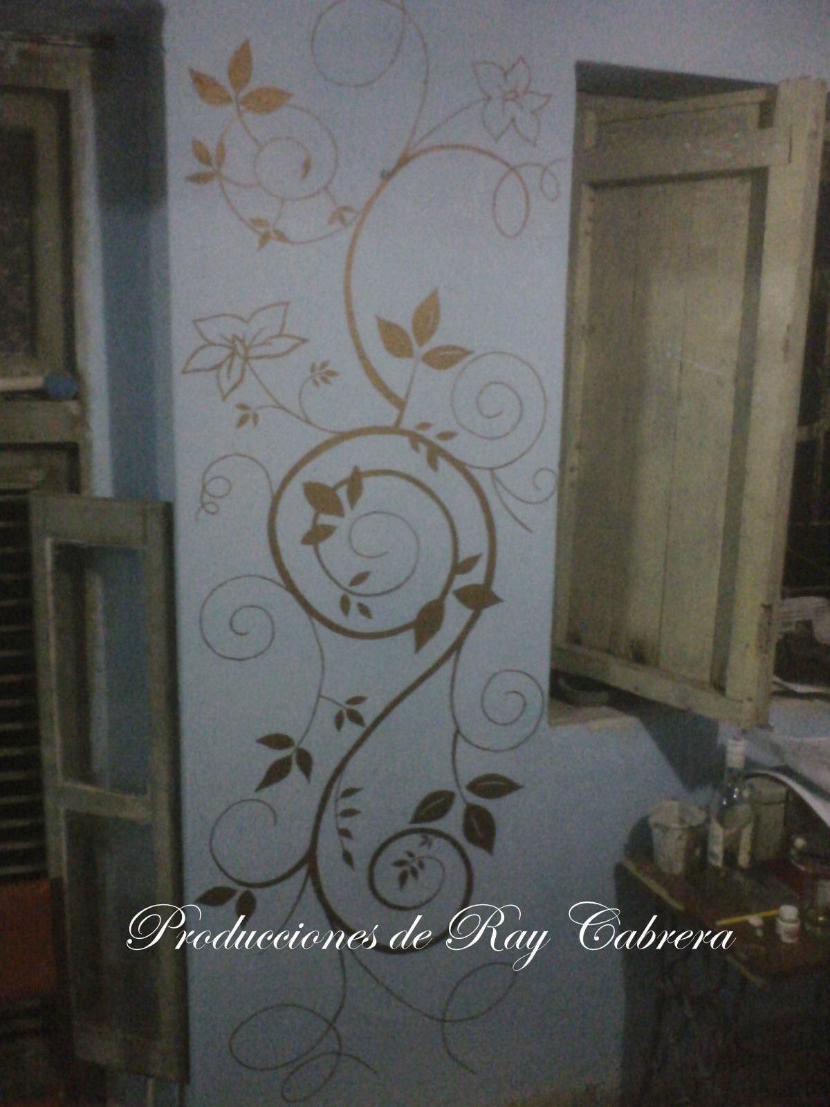 Dibujo en la pared | decoración para paredes | Pinterest | Dibujos ...