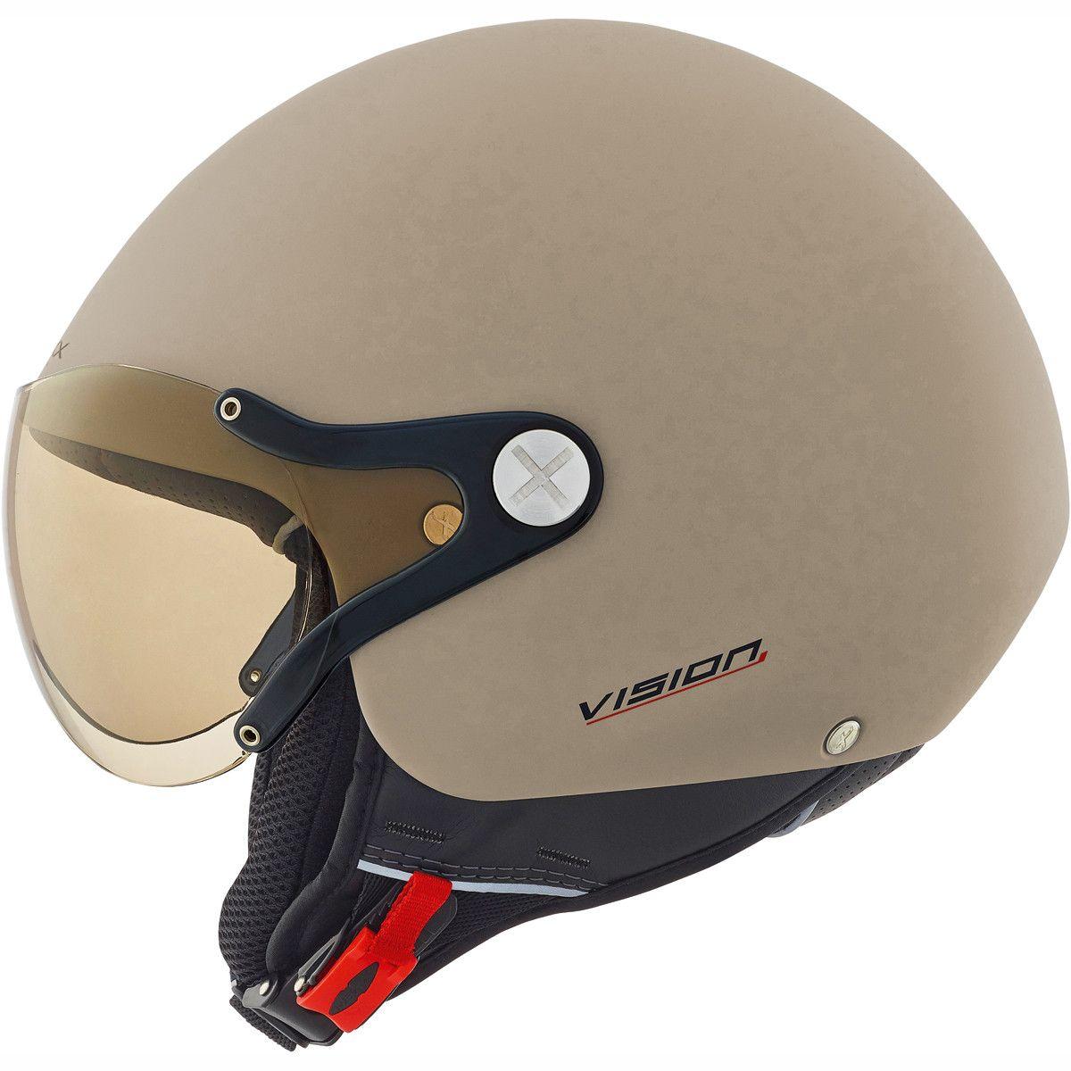 23c924a0 Nexx X60 Vision Plus Helmet in Tan - Stylish, lightweight, composite fibre,  urban helmet with internal sun visor from #Nexx.