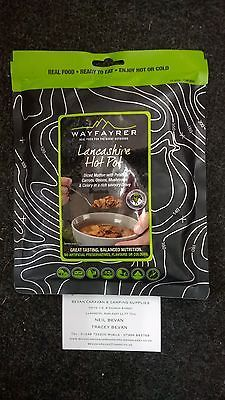 Wayfayrer All Day Breakfast Outdoor Camping Ready to Eat Meal Pouch