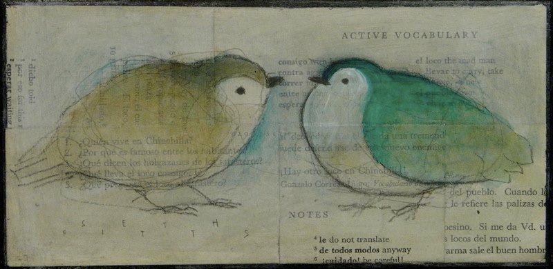 aves sobre periodicos