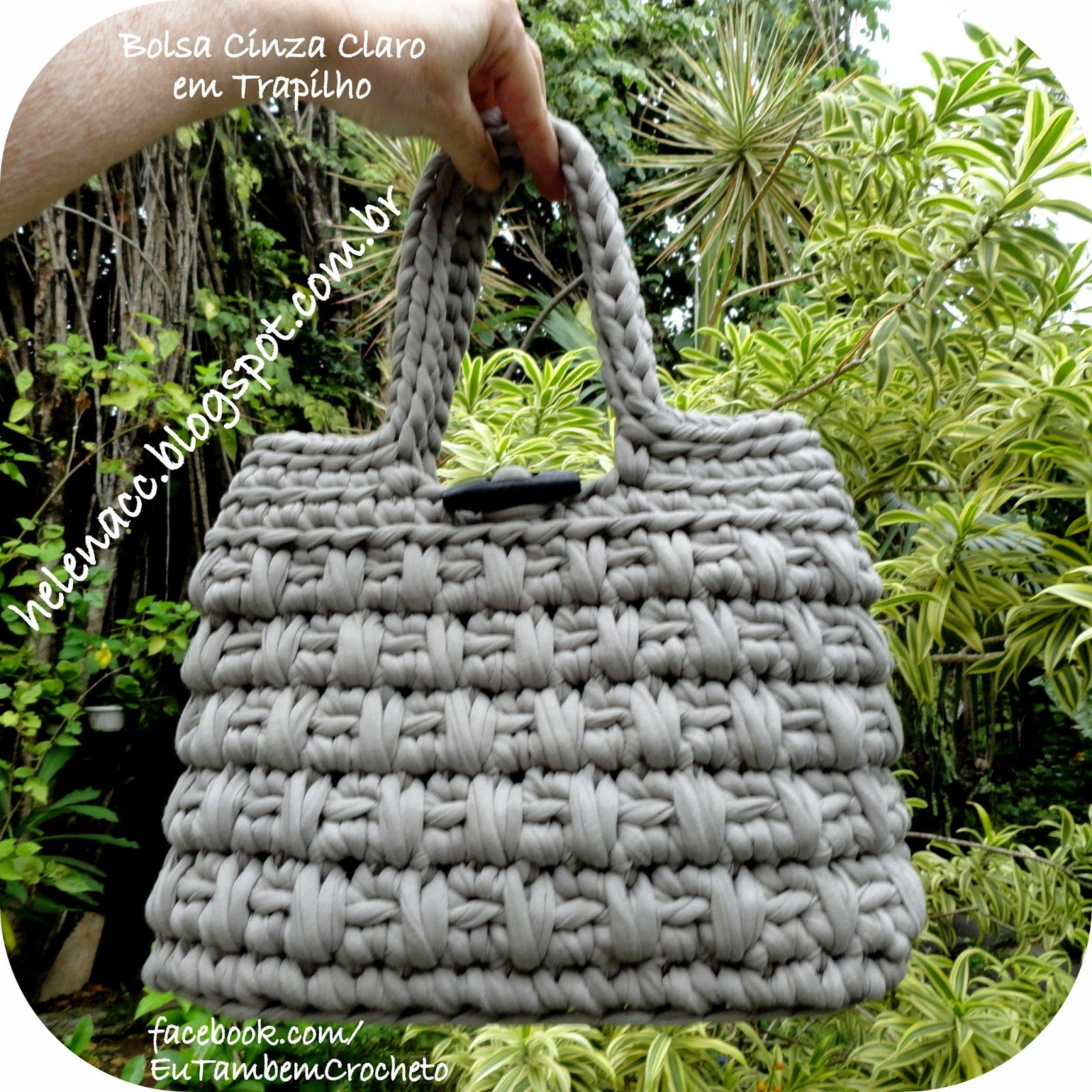 crochet tutorial for bag ♥ | SCRAPBOOKING PROJECT, IDEAS, CRAFT AND ...