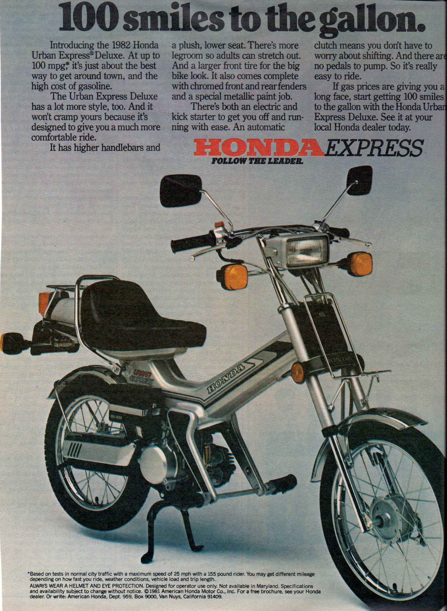 honda express usa 1982 bikes motorrad mini motorrad. Black Bedroom Furniture Sets. Home Design Ideas