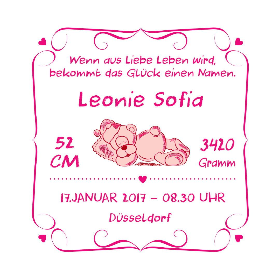 Kissen 039 Geburt 039 Baby Das Kissen Zur Geburt Mit Name Amp Geburtstag Geschenke Zur Geburt Kissen Zur Geburt Zur Geburt