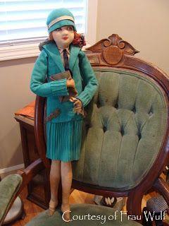 Frau Wulf's Boudoir Doll Blog: Search results for lenci valentino