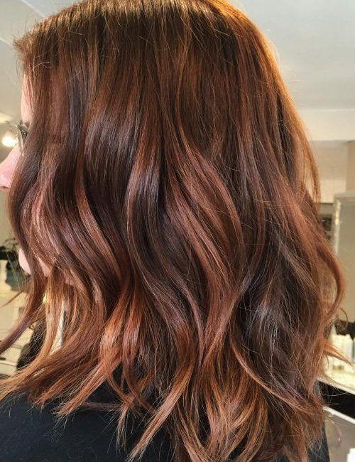 Kupfer Haarfarbe Ideen Fur Beste Frisur Haarfarbe Ideen Kupfer Kupfer Haarfarbe Ist Super Vielseitig Und Es Ist Ni Haarfarben Haarschnitt Dunkelbraunes Haar