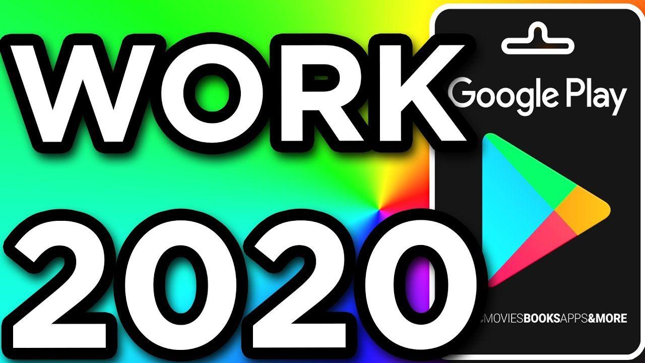 Free Google Play Codes, Gift Card Code 2020 trong 2020