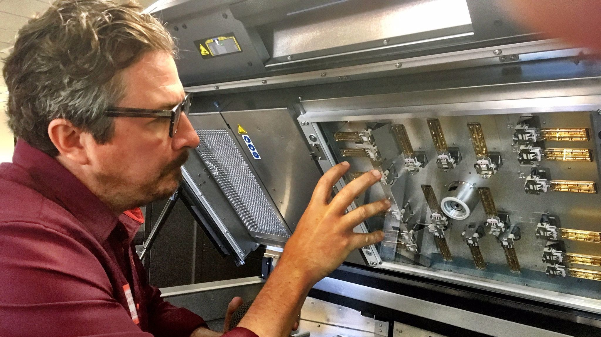 3D printing technology pushes deeper into manufacturing
