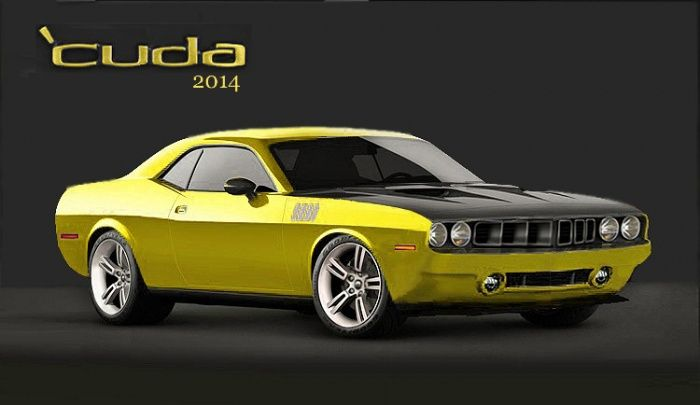 Image Gallery 2014 Plymouth Barracuda