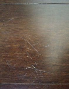 White Scratches On Dark Bamboo Floor Bamboo Floor Scratches Easily - Does bamboo flooring scratch easily