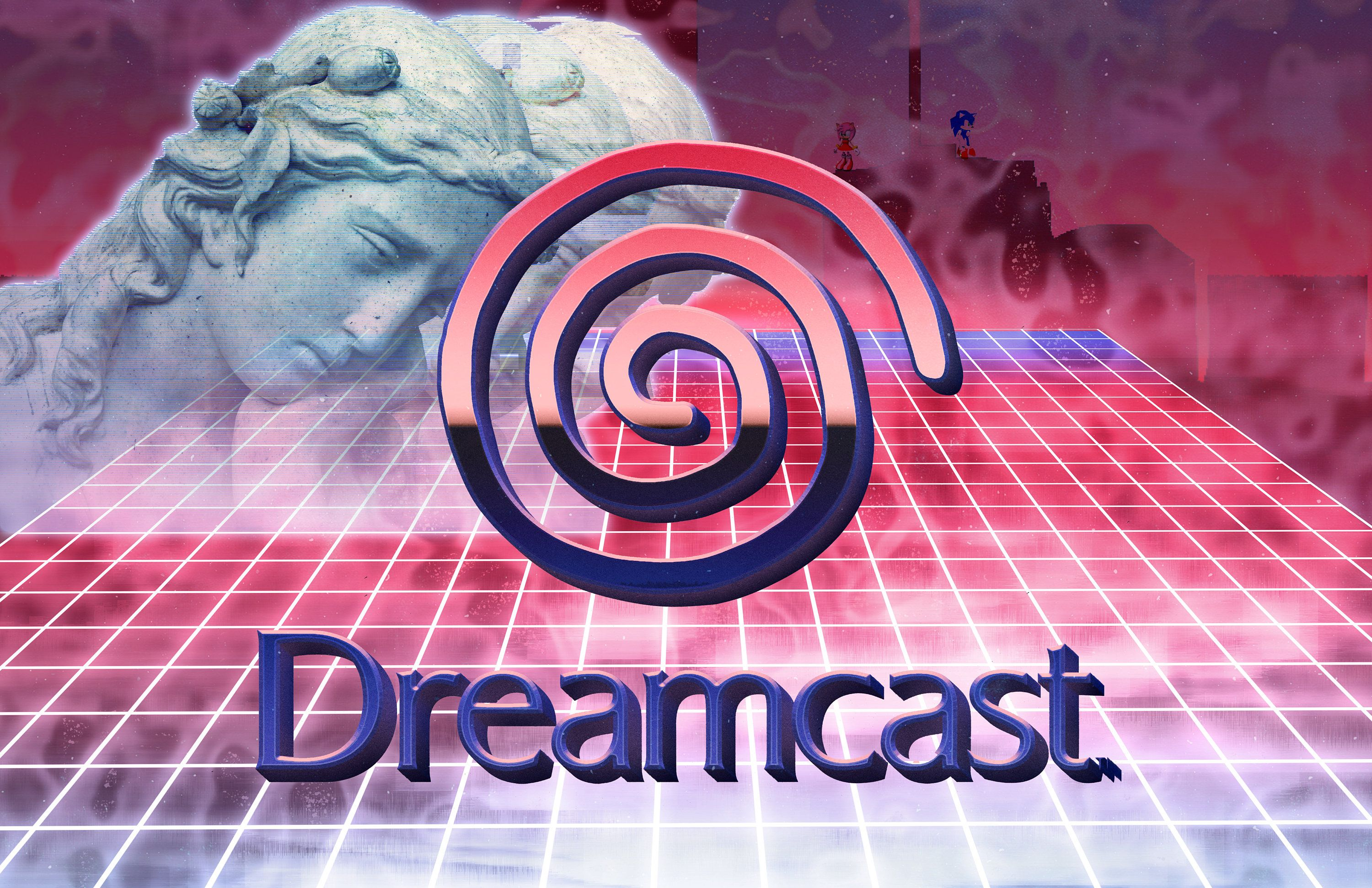 Vaporwave Dreamcast Print Different Sizes Etsy Vaporwave Vaporwave Aesthetic Print