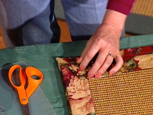 How To Make A Fabric Rug Border Fabric Rug Diy Carpet Diy Rug