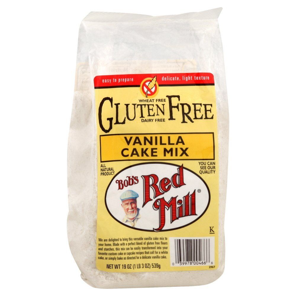 BOBS RED MILL MIX GF CAKE VANILLA, 19 OZ * Check out this