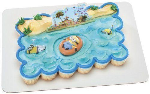 Decopac Despicable Me 2 Beach Party DecoSetAmazonToys Games