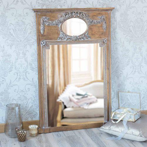 miroir trumeau en bois dor mirano maisons du monde miroirs pinterest miroir trumeau. Black Bedroom Furniture Sets. Home Design Ideas