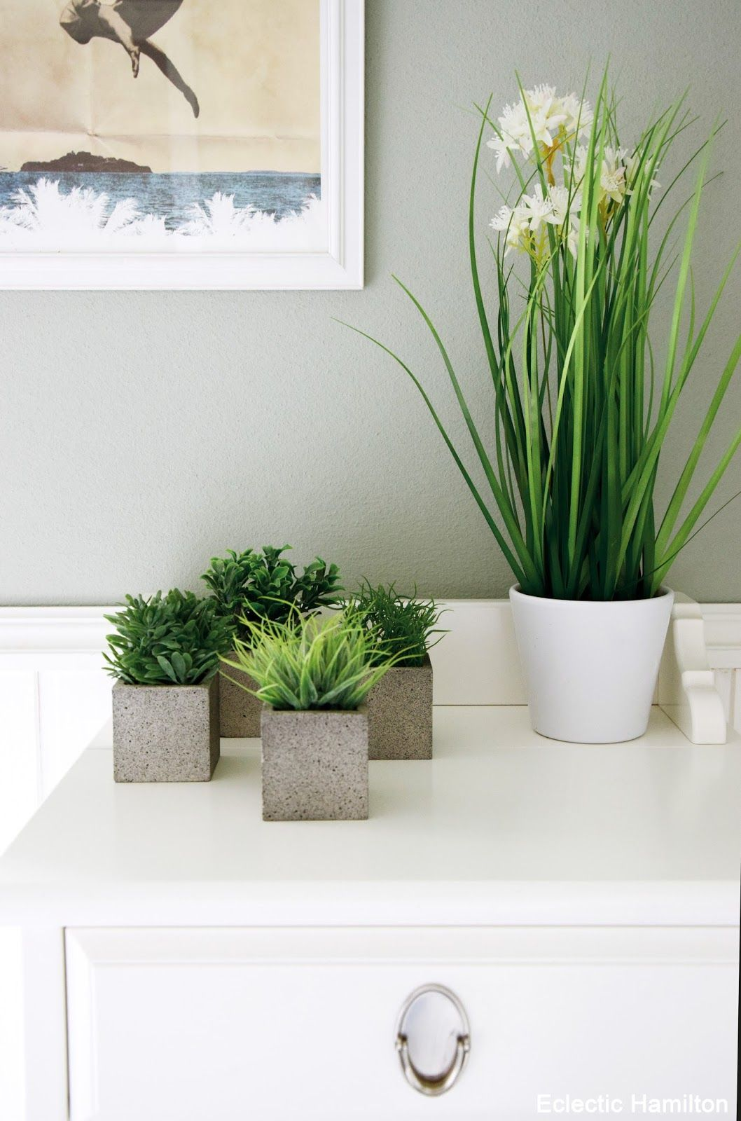 Pflanzen für mein Badezimmer und Einblicke (... endlich mal wieder ...