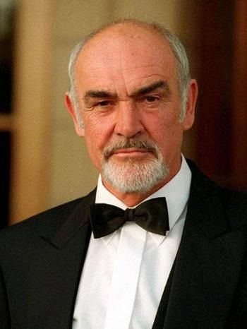 Sean Connery, still hot after all these years!