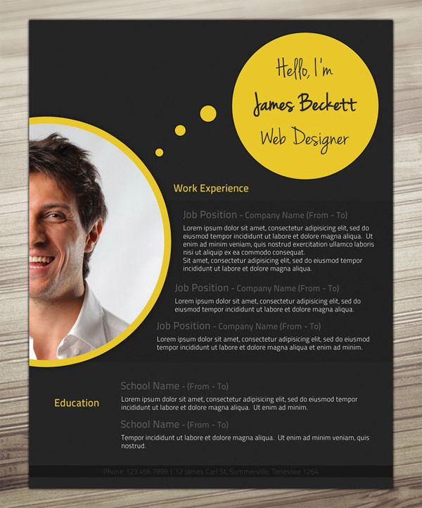 30 Outstanding Resume Designs You Wish You Thought Of Cv ideas - how to make an outstanding resume