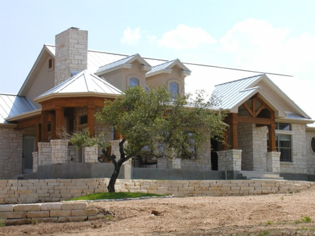 House Texas ranch style country house