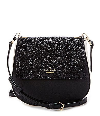 Bag Kate Spade New York Cameron Street Collection Small Byr Glitter Crossbody Dillards