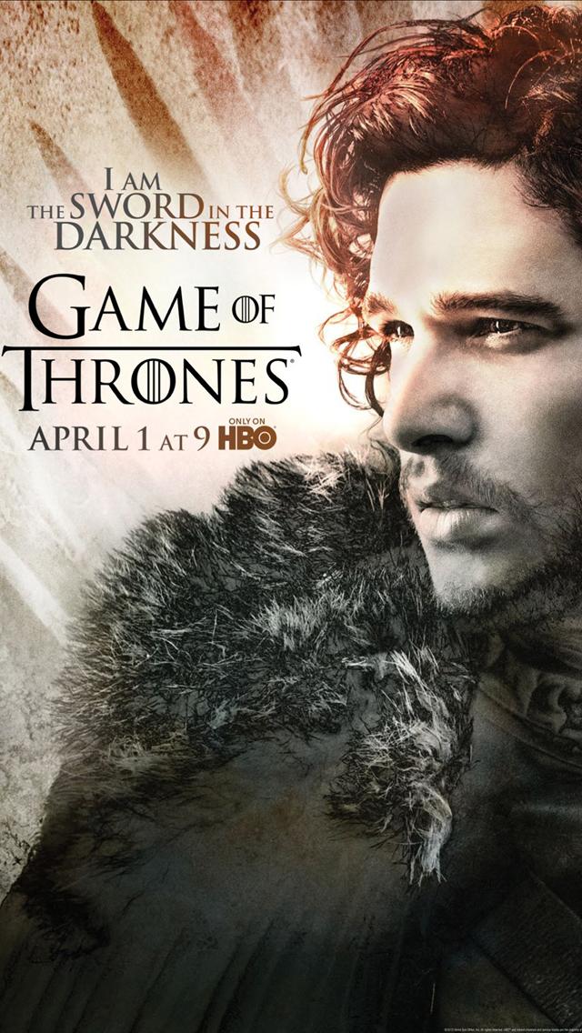 Game of Thrones Season 2_Jon - Movie Poster wallpaper @mobile9 | #gameofthrones
