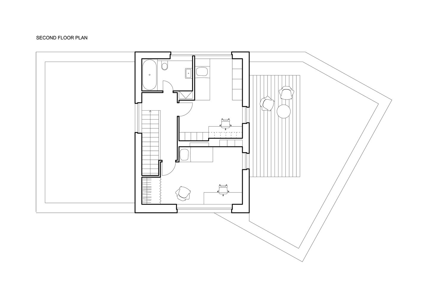 Gallery Of Family House Atelier 111 23 Family House Family House Plans Floor Plans