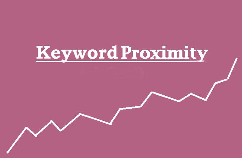 Distance Between The Keywords Called Keyword Proximity Or The