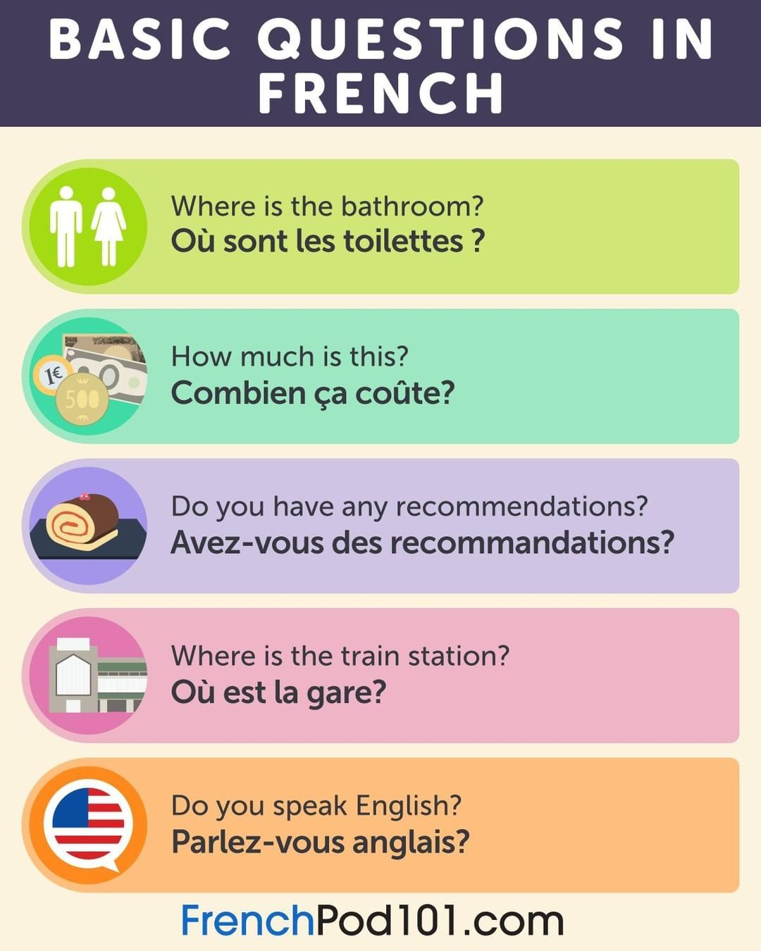 Frenchpod101 On Instagram What S Your Ultimate Question In French French Frenchquestion Frenchpod10 Learning Spanish Learn French This Or That Questions
