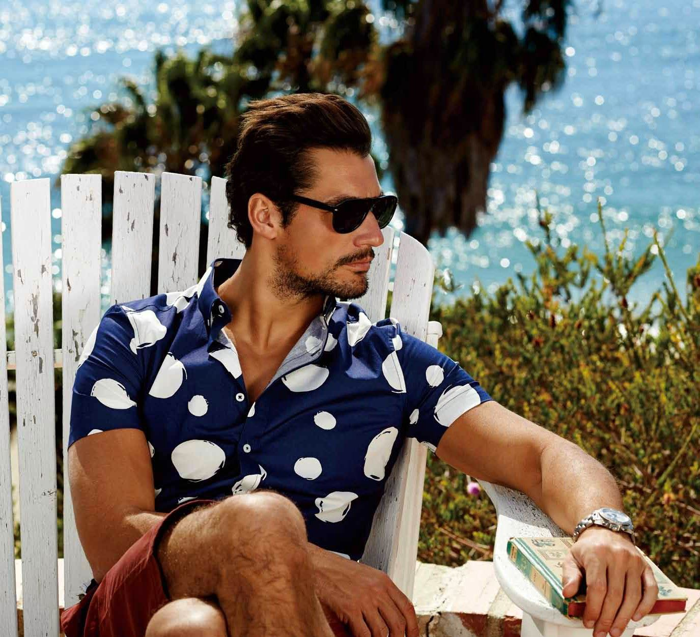 David Gandy for Selected Summer 2014 (HQ Picture Update) ~ David James Gandy