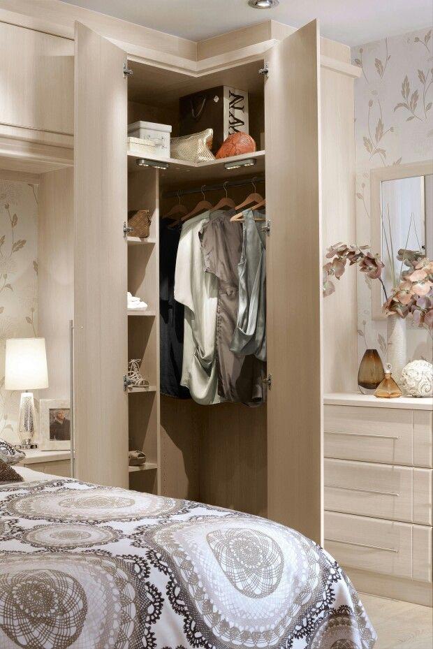 Corner wardrobe … | Home and living, Corner wardrobe ...
