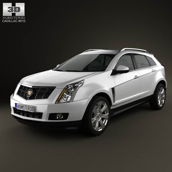Cadillac SRX 2013 3d Model From Humster3d.com. Price: $75