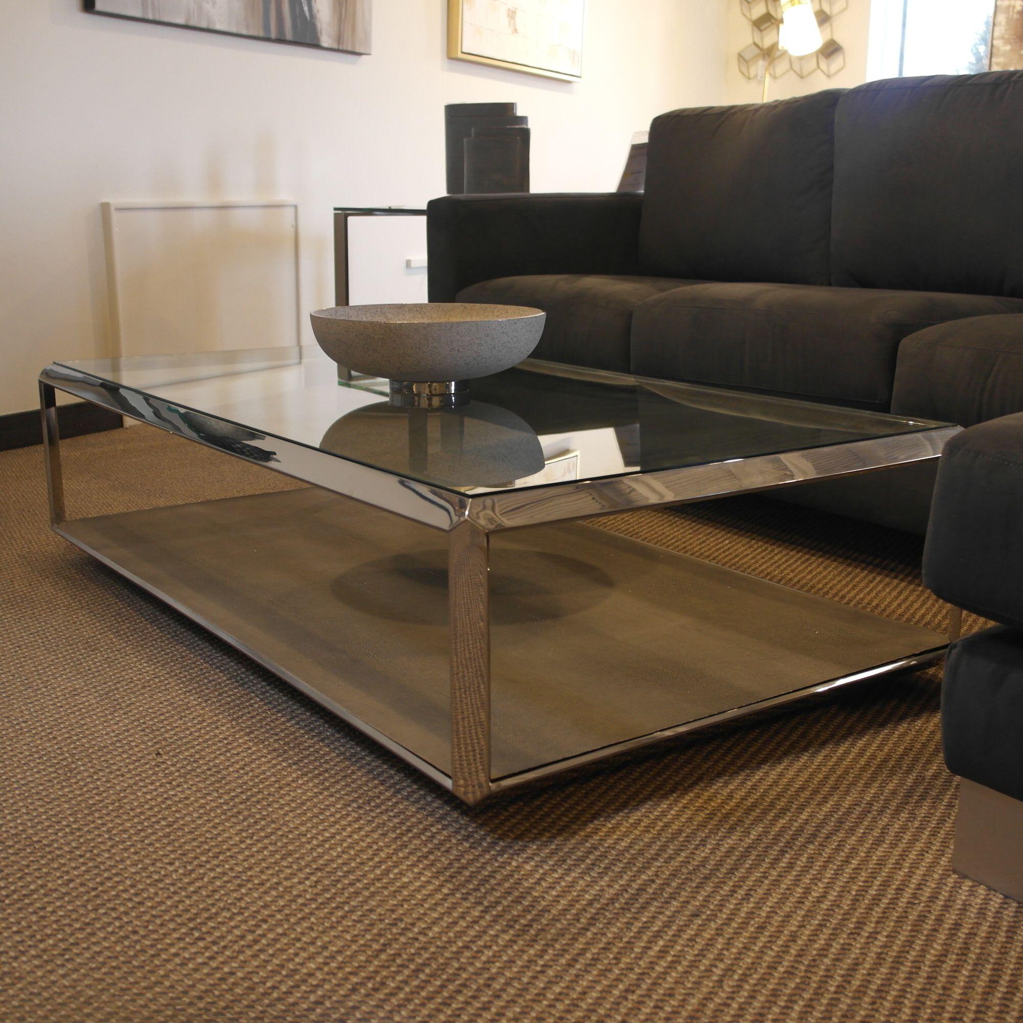 Shagreen Shadowbox Coffee Table bydesigndm furniture