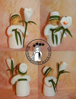 Blumenkinder Fur Den Jahreszeitentisch Blumenkinder Blumen Kinder