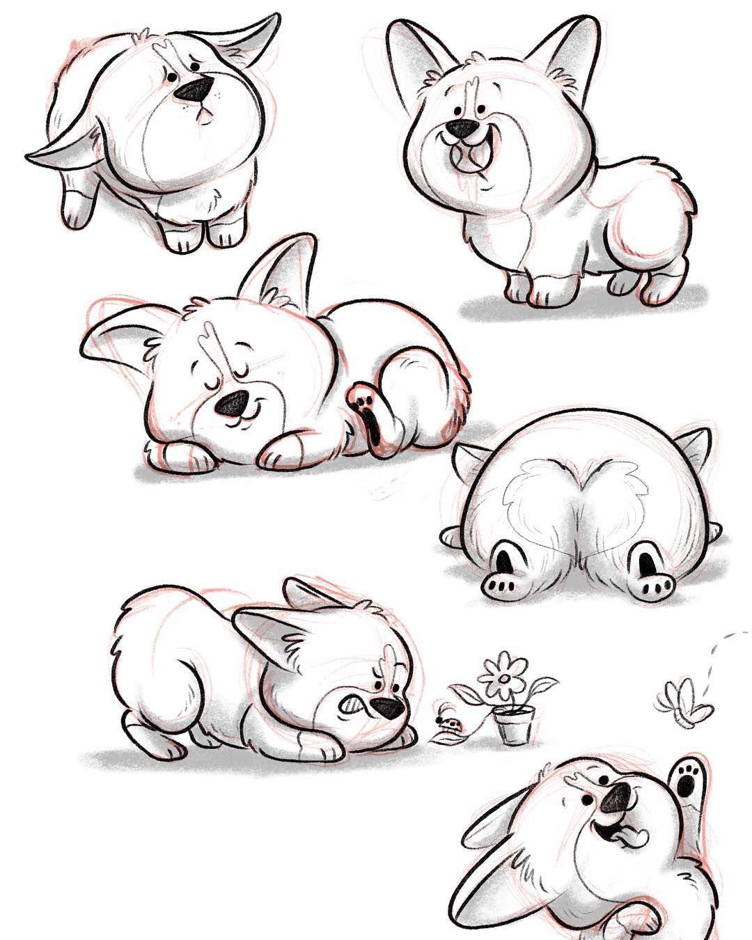 милые картинки животных нарисовать поэтапно сложно