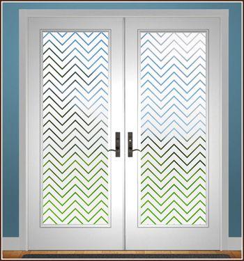 Tucson Semi Private Film Window Film Decor Sliding Glass Door