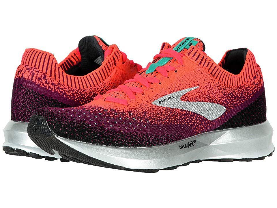 6916657ad710a Brooks Levitate 2 (Pink Black Aqua) Women s Running Shoes. The Brooks